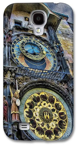 Towe Galaxy S4 Cases - The Prague Astronomical Clock III Galaxy S4 Case by Lee Dos Santos