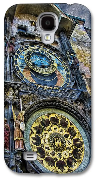 Towe Galaxy S4 Cases - The Prague Astronomical Clock Galaxy S4 Case by Lee Dos Santos