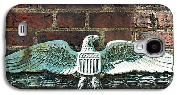 Dolley Galaxy S4 Cases - The Presidential Eagle Guards Dumbarton House Galaxy S4 Case by Cora Wandel