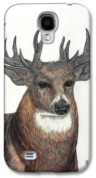 Drawing Galaxy S4 Cases - The Prince Galaxy S4 Case by Cheryl McKeeth