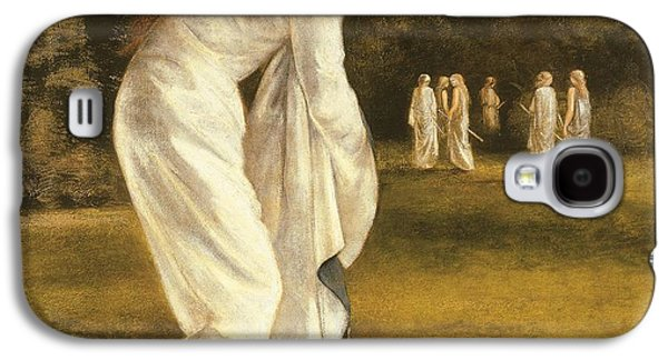 Slaves Galaxy S4 Cases - The Princess Tied to a Tree Galaxy S4 Case by Sir Edward Coley Burne-Jones