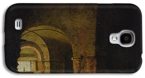 The Prisoner, C.1787-90 Oil On Canvas Galaxy S4 Case by Joseph Wright of Derby