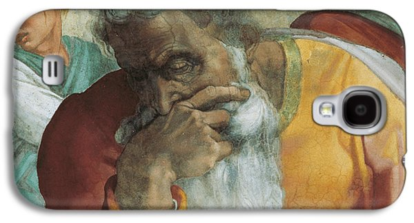 Thought Galaxy S4 Cases - The Prophet Jeremiah Galaxy S4 Case by Michelangelo