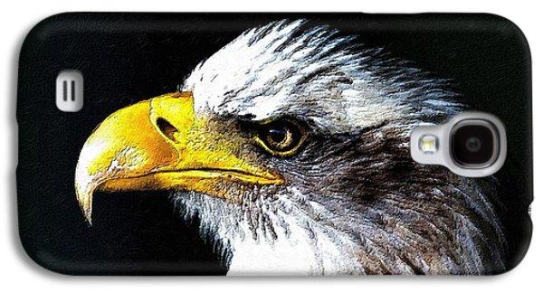Patriots Galaxy S4 Cases - The Proud Eagle Galaxy S4 Case by Florian Rodarte