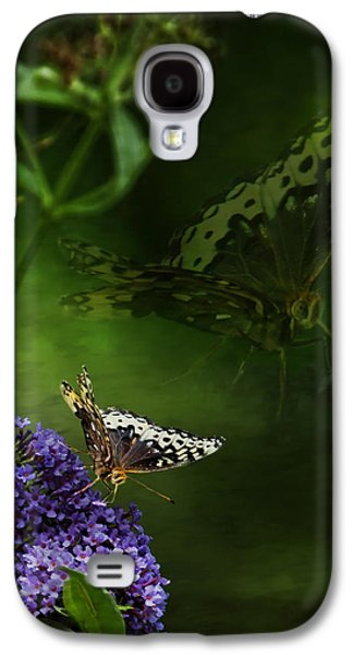 Abstract Digital Photographs Galaxy S4 Cases - The Psyche Galaxy S4 Case by Belinda Greb