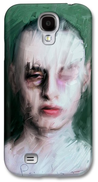 Boxer Digital Galaxy S4 Cases - The Pugilist Galaxy S4 Case by H James Hoff