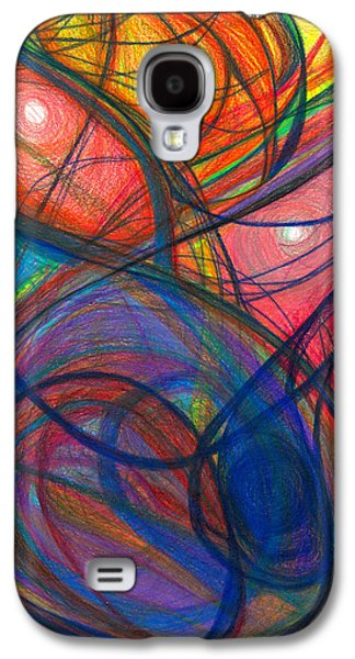 Daina White Galaxy S4 Cases - The Pulse of the Heart Lies Strong Galaxy S4 Case by Daina White