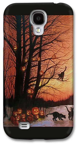 The Pumpkin Tree Galaxy S4 Case by Tom Shropshire