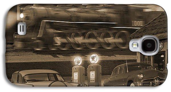 Smoke Digital Art Galaxy S4 Cases - The Pumps 2 Galaxy S4 Case by Mike McGlothlen