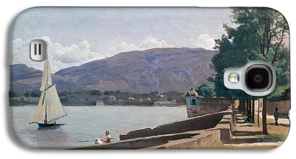 The Quai Des Paquis In Geneva Galaxy S4 Case by Jean Baptiste Camille Corot