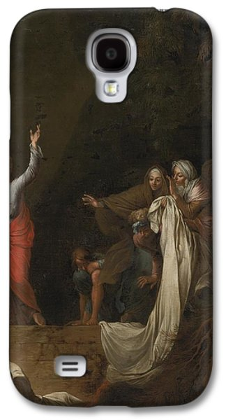 The Followers Galaxy S4 Cases - The Raising Of Lazarus Galaxy S4 Case by Celestial Images