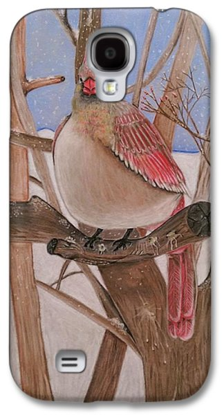 Storm Prints Pastels Galaxy S4 Cases - The real angry bird Galaxy S4 Case by Denisse Del Mar Guevara