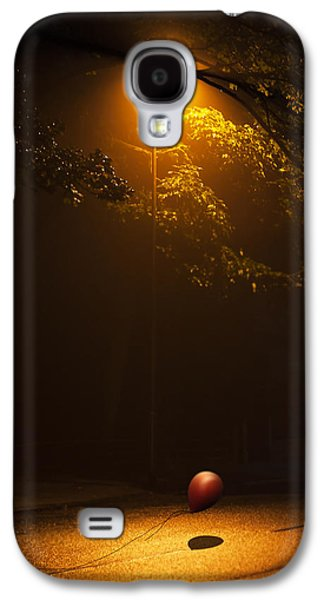 Creepy Digital Art Galaxy S4 Cases - The Red Balloon Galaxy S4 Case by Svetlana Sewell