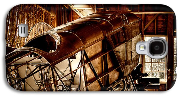 Manufacturing Galaxy S4 Cases - The Red Barn of the Boeing Company II Galaxy S4 Case by David Patterson
