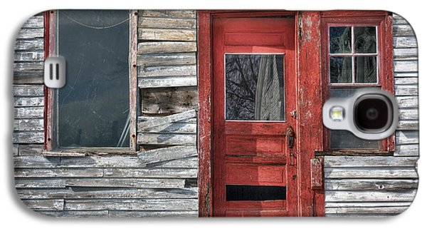 The Red Door Galaxy S4 Case by Eric Gendron
