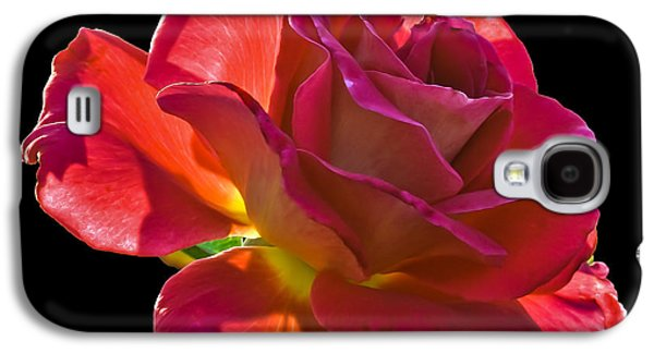 Haybale Photographs Galaxy S4 Cases - The Red One Galaxy S4 Case by Robert Bales