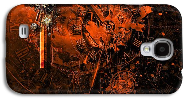 Viruses Galaxy S4 Cases - The redemption of the technical and digital world Galaxy S4 Case by Franziskus Pfleghart