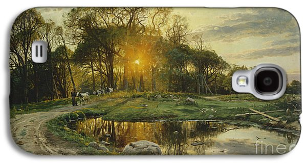 The Return Home Galaxy S4 Case by Peder Monsted