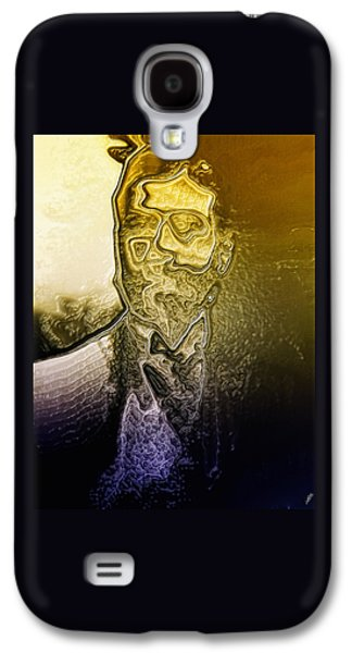Abstract Digital Digital Art Galaxy S4 Cases - The Picture of Dorian Gray By Quim Abella Galaxy S4 Case by Joaquin Abella