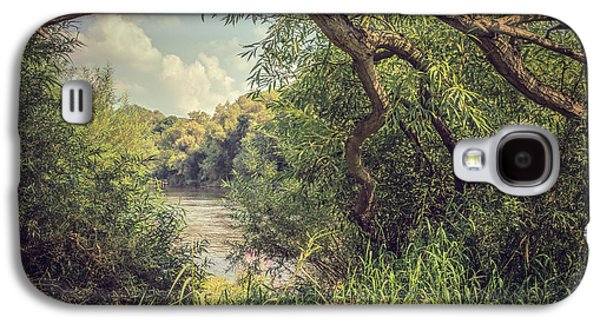 River View Galaxy S4 Cases - The River Severn at Buildwas Galaxy S4 Case by Amanda And Christopher Elwell