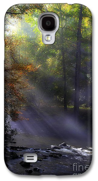River Scenes Photographs Galaxy S4 Cases - The Rivers Embrace Galaxy S4 Case by Michael Eingle