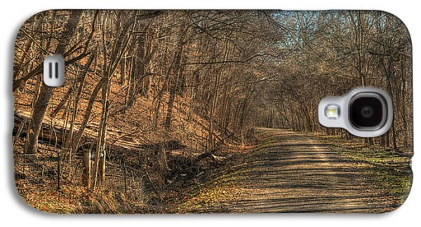 Base Path Galaxy S4 Cases - The Road Goes Ever On Galaxy S4 Case by William Fields