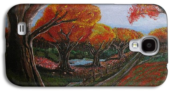 Erik Coryell Galaxy S4 Cases - The Road Home Galaxy S4 Case by Erik Coryell