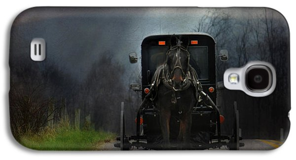 Lori Deiter Digital Art Galaxy S4 Cases - The Road Less Traveled Galaxy S4 Case by Lori Deiter