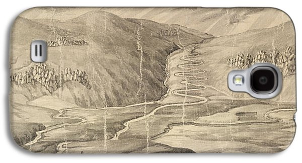 The Road Over Corryarick Hills Galaxy S4 Case by British Library