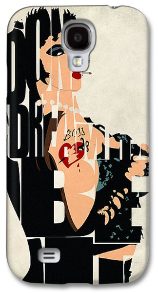 Minimalist Poster Galaxy S4 Cases - The Rocky Horror Picture Show - Dr. Frank-N-Furter Galaxy S4 Case by Ayse Deniz