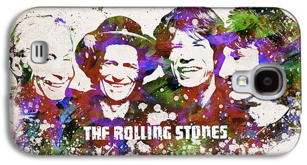 Keith Richards Galaxy S4 Cases - The Rolling Stones Galaxy S4 Case by Aged Pixel