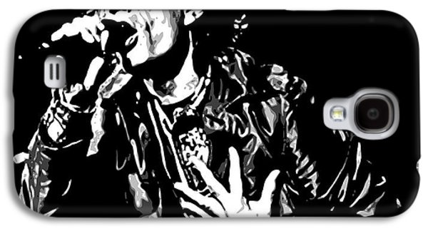 Famous Artist Galaxy S4 Cases - The Rolling Stones No01 Galaxy S4 Case by Caio Caldas