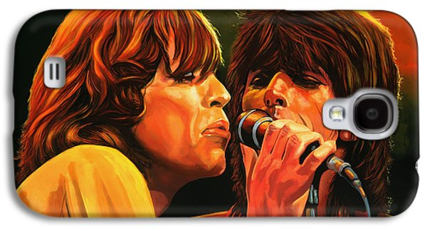 Tattoo Galaxy S4 Cases - The Rolling Stones Galaxy S4 Case by Paul Meijering