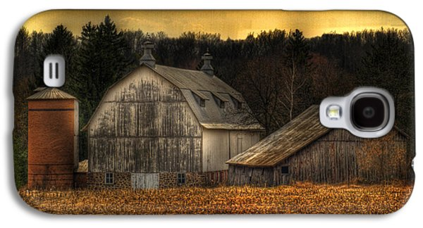 Shed Galaxy S4 Cases - The Rose Farm Galaxy S4 Case by Thomas Young