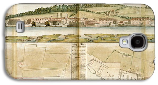 The Royal Dockyard Galaxy S4 Case by British Library