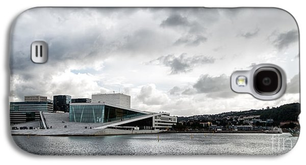Oslo Opera House Galaxy S4 Cases - The Royal National Opera House in Oslo Norway Galaxy S4 Case by Frank Bach