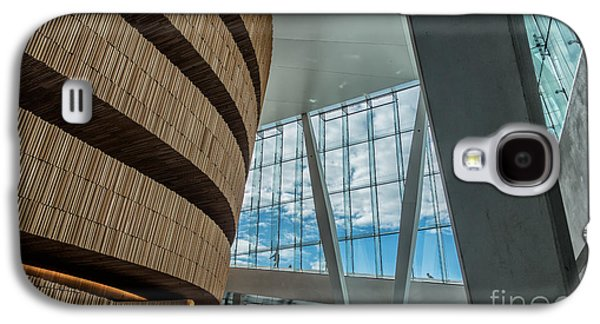 Oslo Opera House Galaxy S4 Cases - The Royal National Opera House  interior in Oslo Norway Galaxy S4 Case by Frank Bach