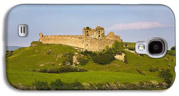Landscapes Photographs Galaxy S4 Cases - The Ruined Walls Of Roche Castle Galaxy S4 Case by Panoramic Images
