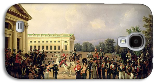 Neo Galaxy S4 Cases - The Russian Guard In Tsarskoye Selo In 1832, 1841 Oil On Canvas Galaxy S4 Case by Franz Kruger