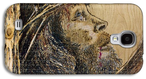 Bible Pyrography Galaxy S4 Cases - The Sacrifice Galaxy S4 Case by Richard Jules