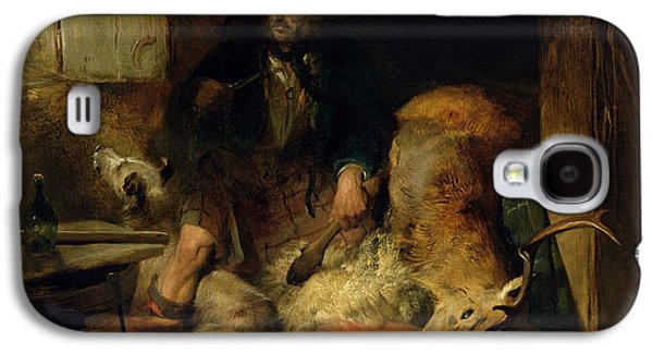 Scottish Dog Galaxy S4 Cases - The Savage Galaxy S4 Case by Sir Edwin Landseer