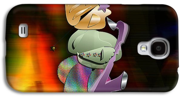 The Sax Man Galaxy S4 Case by Marvin Blaine