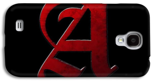Author Mixed Media Galaxy S4 Cases - The Scarlet Letter Galaxy S4 Case by Dan Sproul