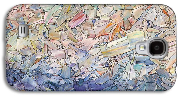 Mosaic Galaxy S4 Cases - Fragmented Sea Galaxy S4 Case by James W Johnson