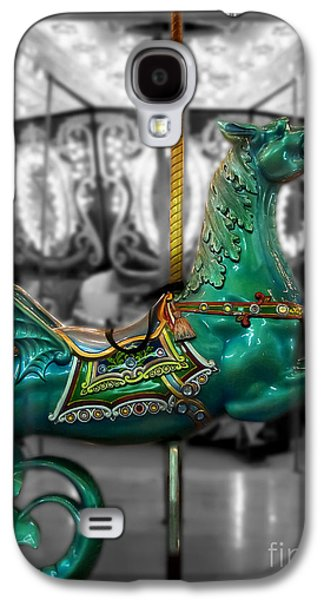 Original Art Photographs Galaxy S4 Cases - The Sea Dragon - Carousel Galaxy S4 Case by Colleen Kammerer
