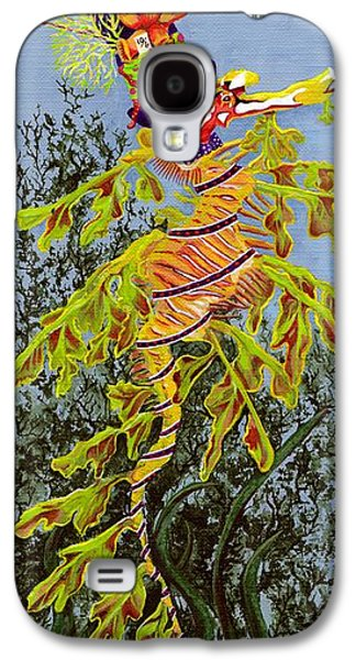 Mad Hatter Paintings Galaxy S4 Cases - The Sea Hatter Galaxy S4 Case by KJ Swan