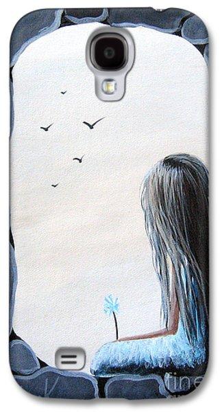 Dreamscape Galaxy S4 Cases - The Secret Window by Shawna Erback Galaxy S4 Case by Shawna Erback