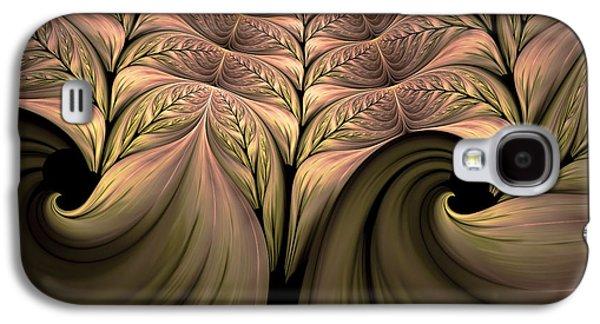The Secret World Of Plants Abstract Galaxy S4 Case by Georgiana Romanovna
