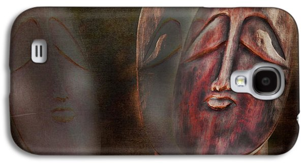 Statue Portrait Galaxy S4 Cases - The Seekers Galaxy S4 Case by Terry Fleckney