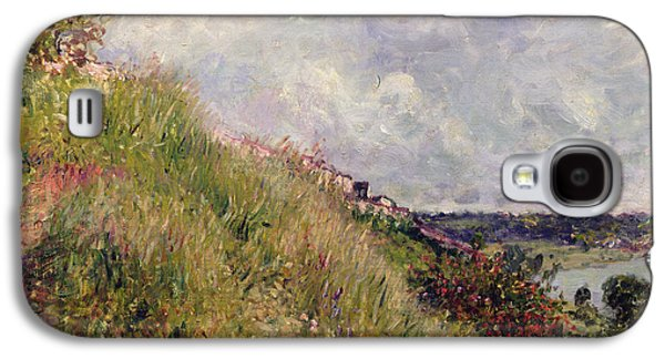 Impressionism Photographs Galaxy S4 Cases - The Seine, View Of The Slopes Of By, 1881 Oil On Canvas Galaxy S4 Case by Alfred Sisley